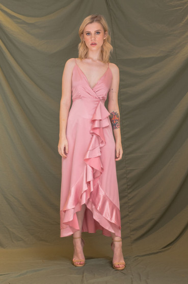ZOO - Fashion Online | SICILY Bow Front Maxi Dress