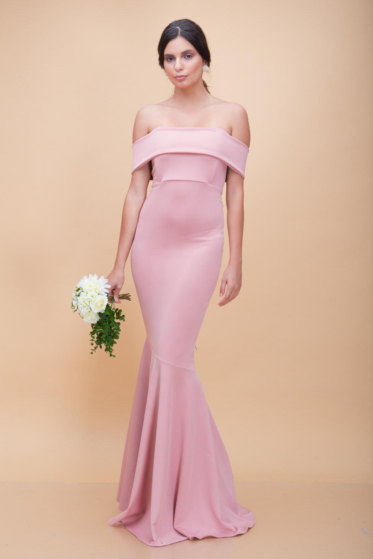 Dusty Rose Maxi Dress – Fashion dresses