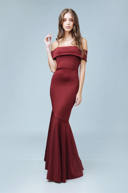 8d3ec6af57 ... PALOMA Off Shoulder Maxi Dress with Flounce Hem (Maroon).  FIRST-SUM2016-1167 · SECOND-SUM2016-1185 ...