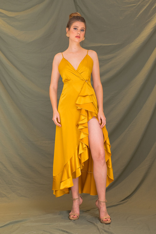 ZOO - Fashion Online | MORNING MIST Asymmetric A-line